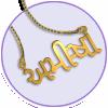 Gujarati Name Necklace
