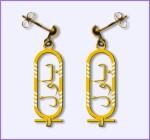 Cartouche Earring