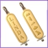 Gold Plated Cartouche