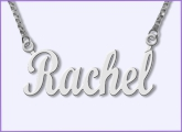 Name Necklace in English